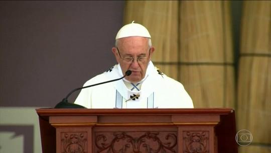 Papa Francisco fala sobre corrupção durante viagem ao Peru