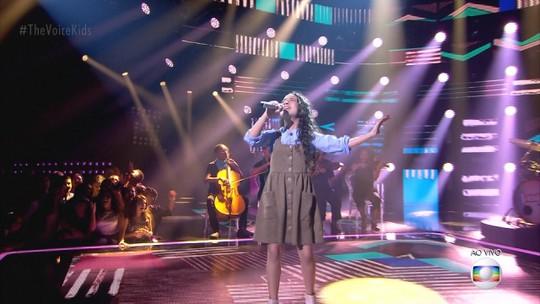 Luiza Barbosa comemora trajetória após a Final do 'The Voice Kids': 'Consegui emocionar todo mundo'