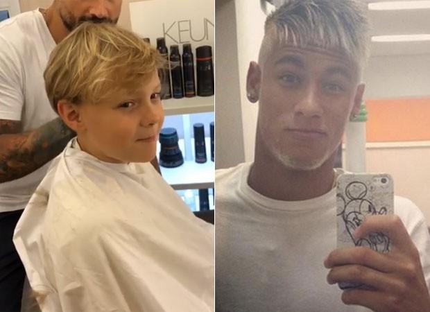David Lucca, filho de Neymar (Foto: Reprodução)