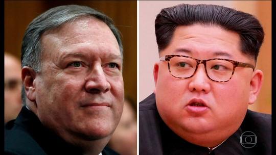 Trump confirma que Mike Pompeo e Kim Jong-un se reuniram na Coreia do Norte