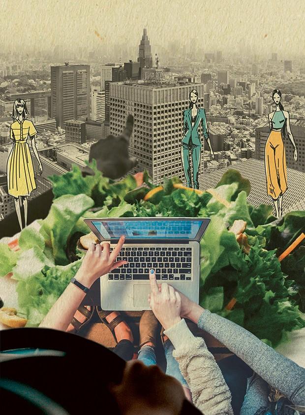 Work (Foto: Ilustração Nina Vieira)