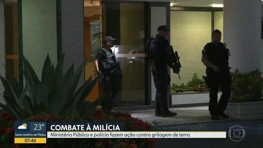 Major da PM e mais 4 são presos em ação contra milícia que faz grilagem