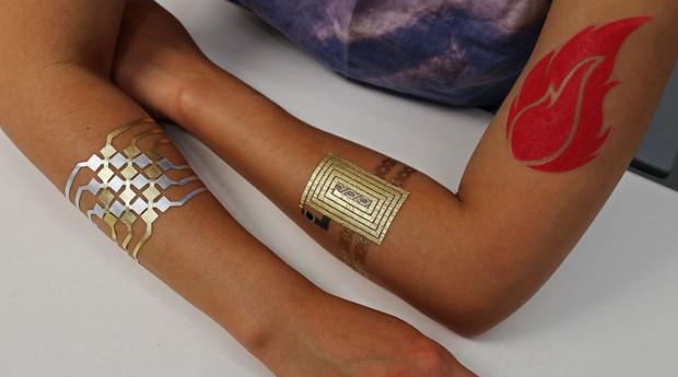 Tatuagens da DuoSkin (Foto: Divulgação/DuoSkin)