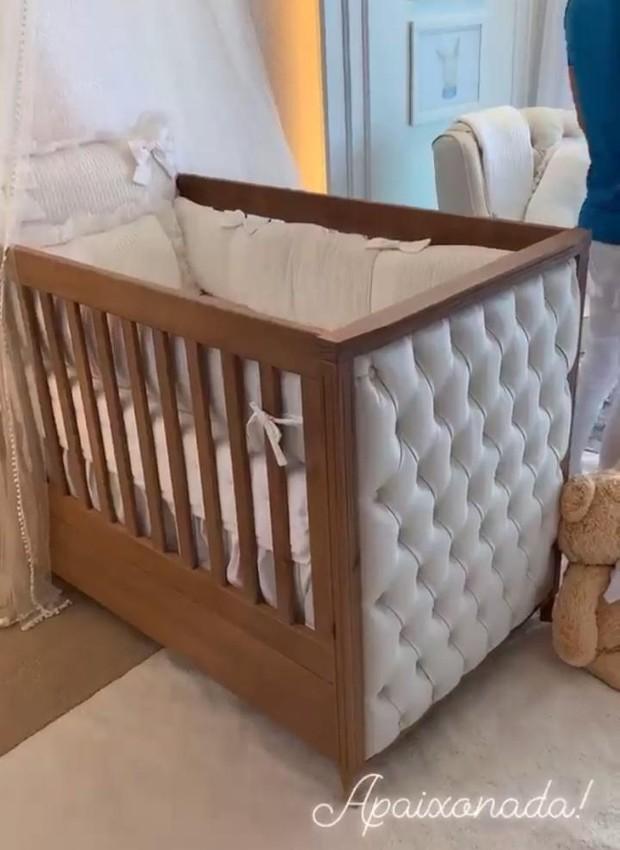 Quarto de bebê de Dom, filho de Wesley Safadão e Thyane Dantas (Foto: Instagram/ Reprodução)