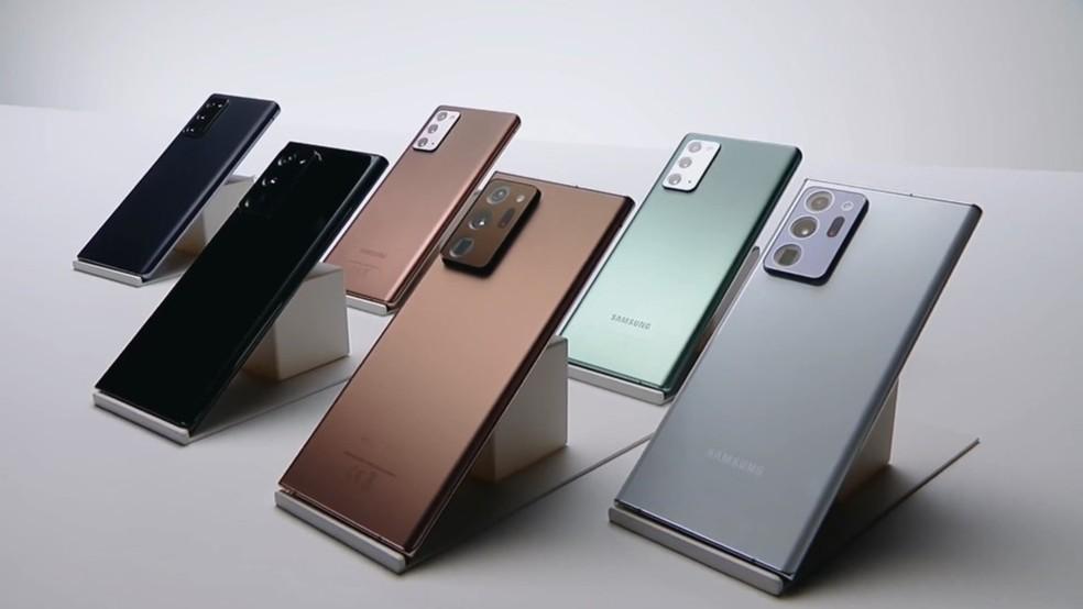 Galaxy Note 10 vs Galaxy Note 20: saiba o que muda entre celulares Samsung | Celular | TechTudo