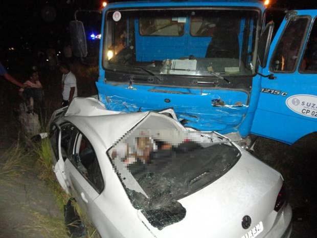Segundo delegada, batida ocorreu após ultrapassagem (Foto: Edvaldo Alves/ Liberdadenews.br)