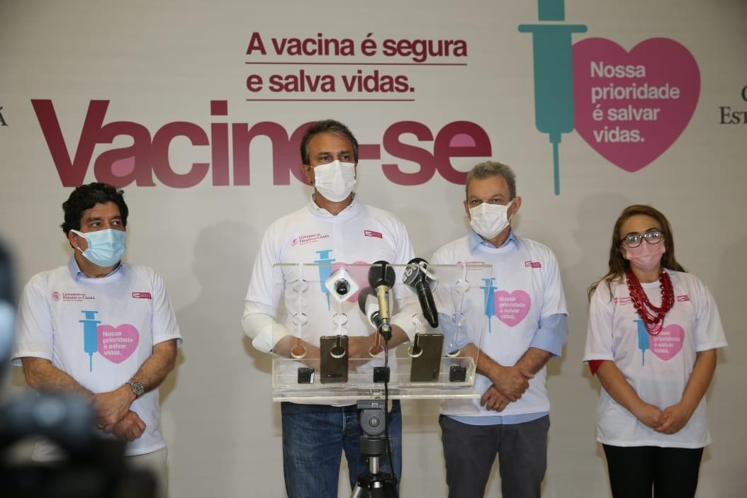 Ceará pretende aplicar a vacina de Oxford sem reter a segunda dose