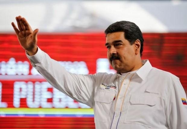 Maduro afirmou que fronteira da Venezuela com o Brasil ficará fechada 'total e absolutamente, até novo aviso' (Foto: AFP via BBC)