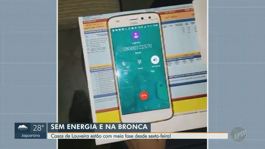 Moradores de Louveira reclamam que energia opera em meia fase há cinco dias