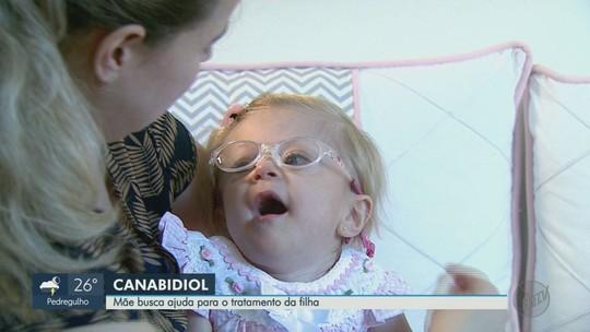 Mãe busca ajuda para tratamento da filha com remédio à base de maconha em Sales Oliveira, SP