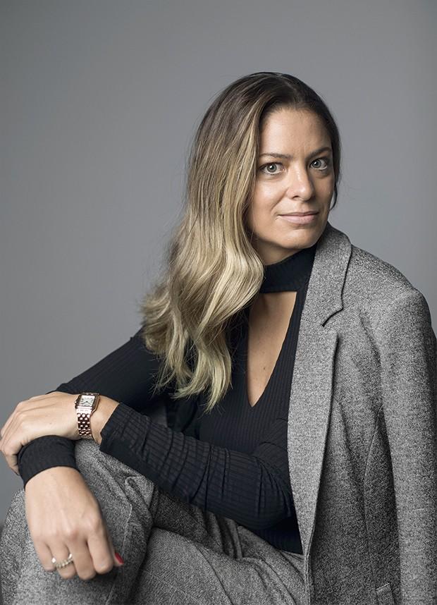 Paula, 36, chegou ao topo numa multinacional de tecnologia (Foto: Julia Rodrigues)