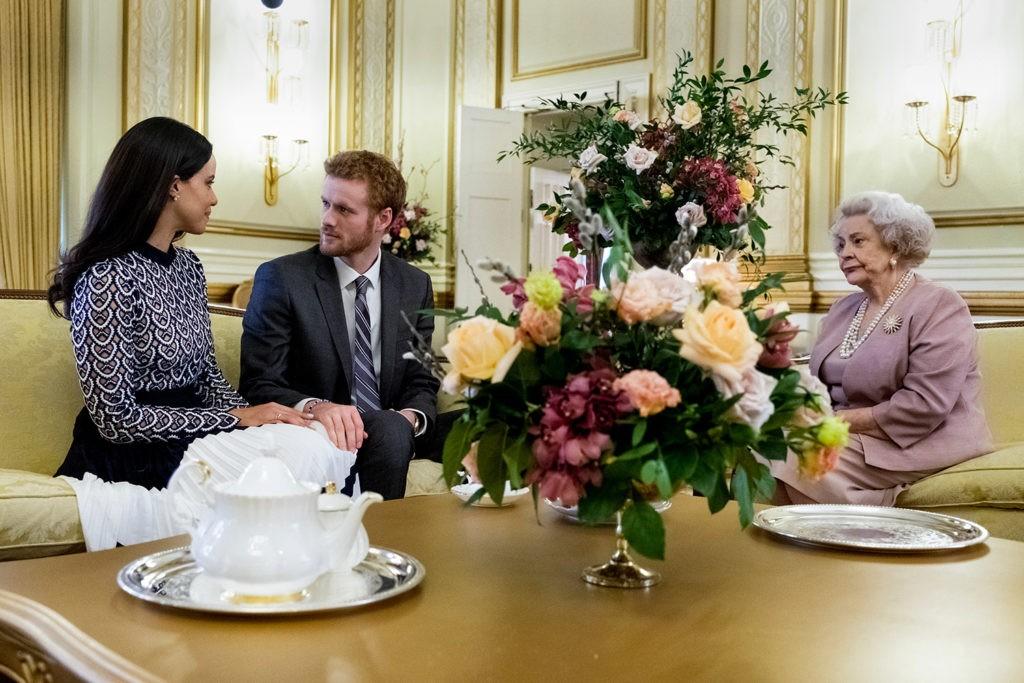 Cena de Harry e Meghan: Um Amor Real (Foto: Michael Courtney/ divulgação)