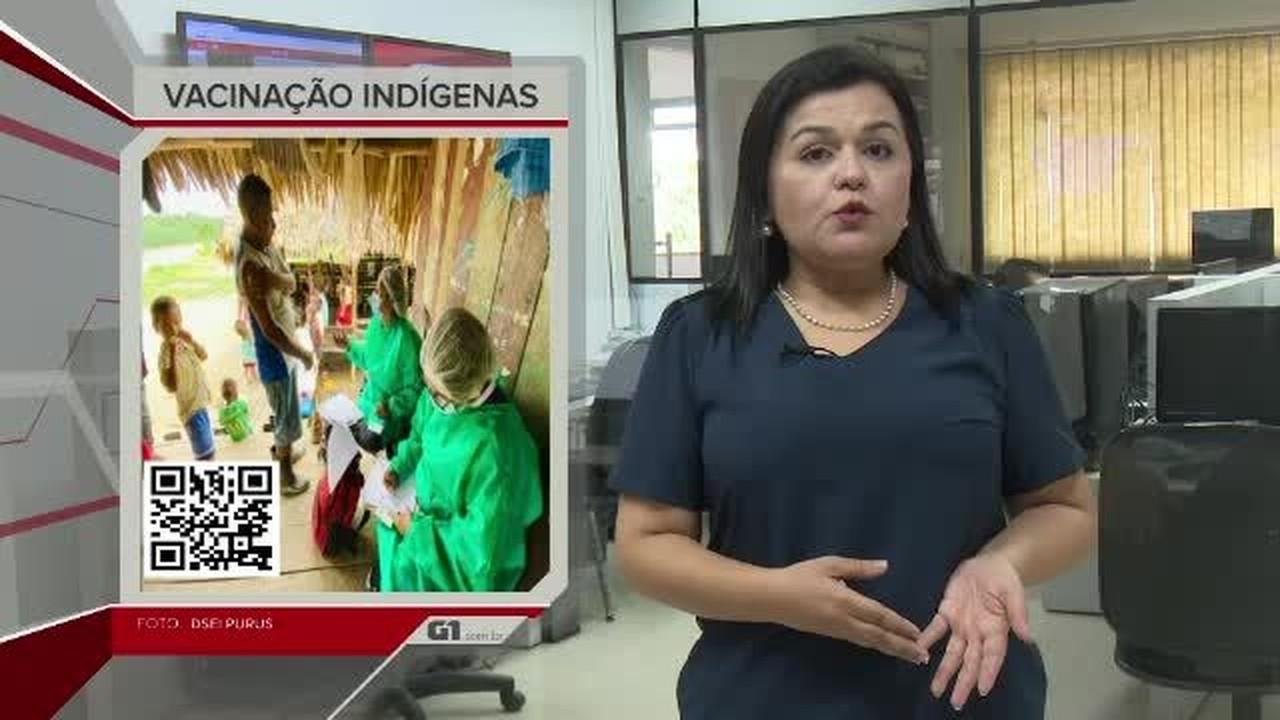 G1 em 1 Minuto - AC: Rio Iaco sai da cota de transbordo em Sena Madureira