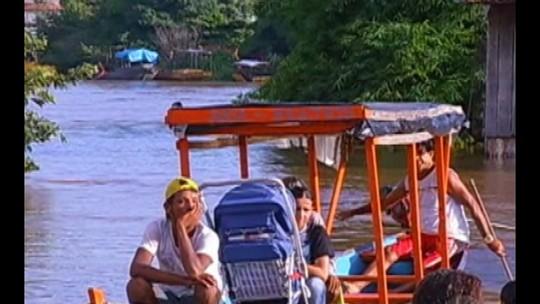 Chuvas e enchentes afetam 14 municípios e deixam desabrigados do Pará