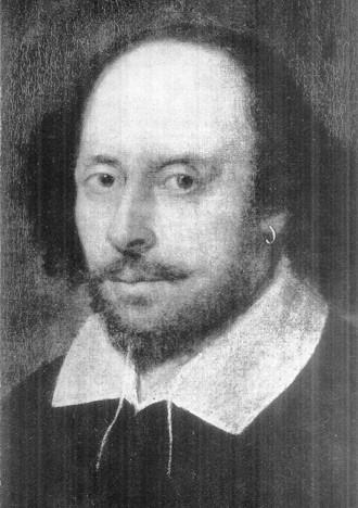 O poeta e dramaturgo William Shakespeare (Foto: Reprodução)