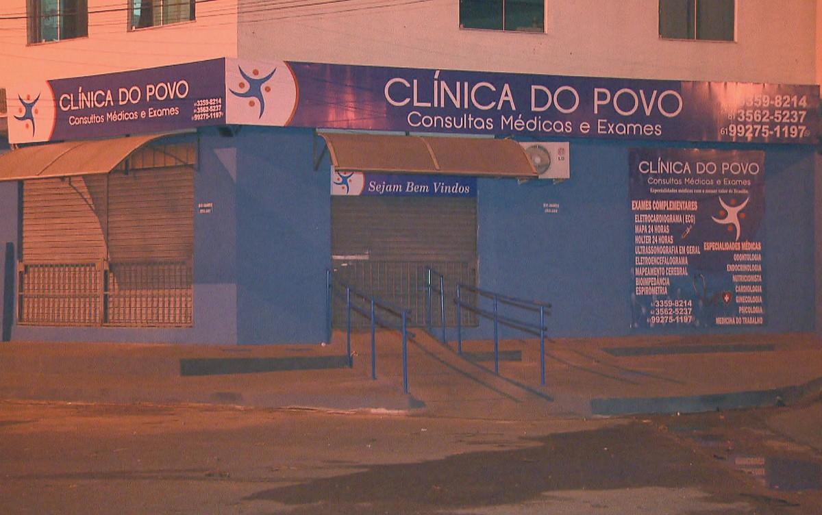 Clínicas investigadas por fraudes em exames de sangue no DF funcionavam de forma clandestina