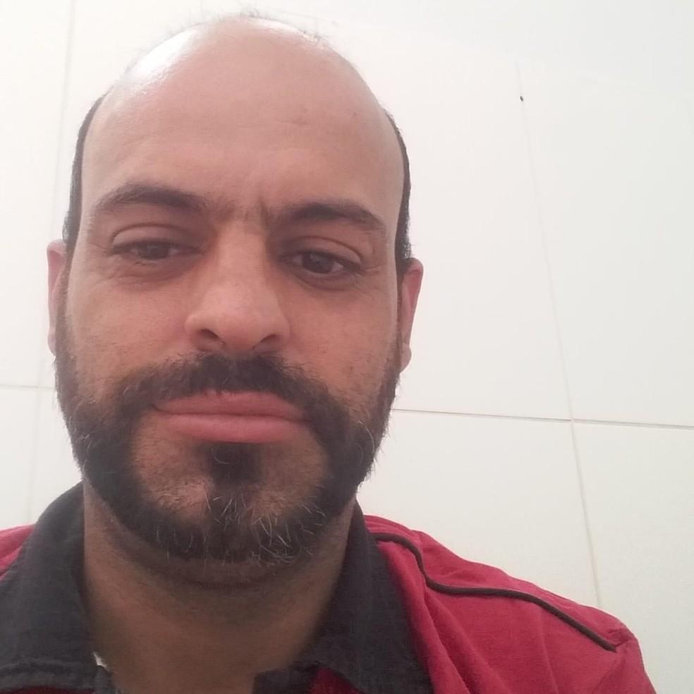 Vítima foi identificada como Clóvis Antônio Grisante Júnior, de 43 anos — Foto: VidaPrev