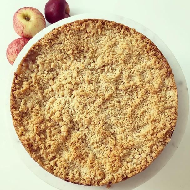Crumble de maçã (Foto: Reprodução/Instagram)