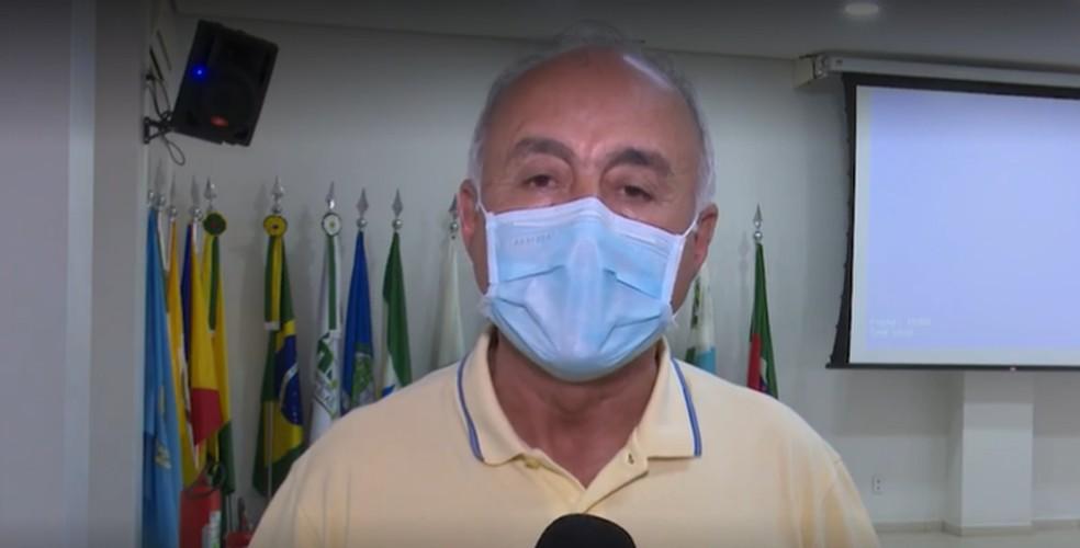 Bocalom diz que nunca defendeu ou disponibilizou 'kit Covid' em Rio Branco — Foto: Reprodução Rede Amazônica/Acre