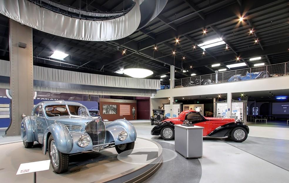 Mullin Automotive Museum — Foto: Reprodução