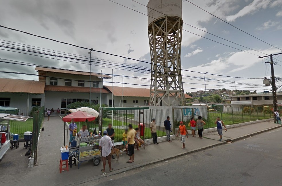 Vítima do feminicídio foi levada à UPA de Nova Descoberta, no Recife — Foto: Reprodução/Google Street View