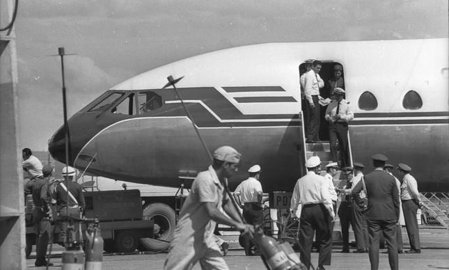 Sequestro do Caravelle da Cruzeiro do Sul que teve sua rota desviada para Cuba