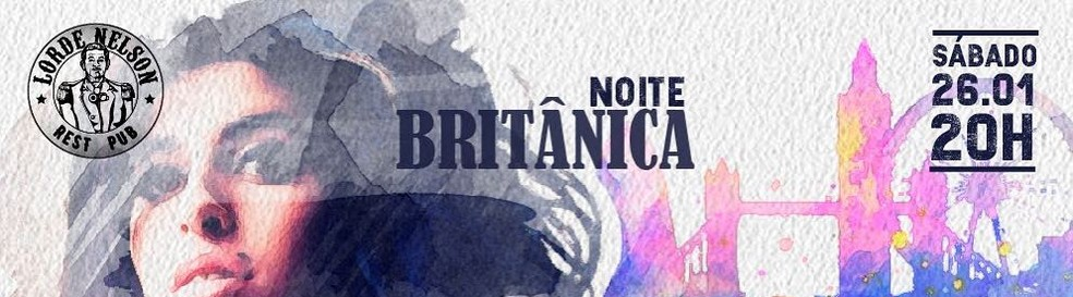 Noite Britânica no Lorde Nelson Resto Pub — Foto: Divulgação