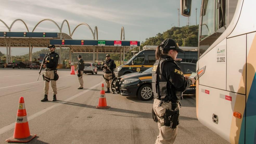 Ação vai até domingo (14). Fiscalizações serão direcionadas para os pontos e horários críticos — Foto: Divulgação/Polícia Rodoviária Federal