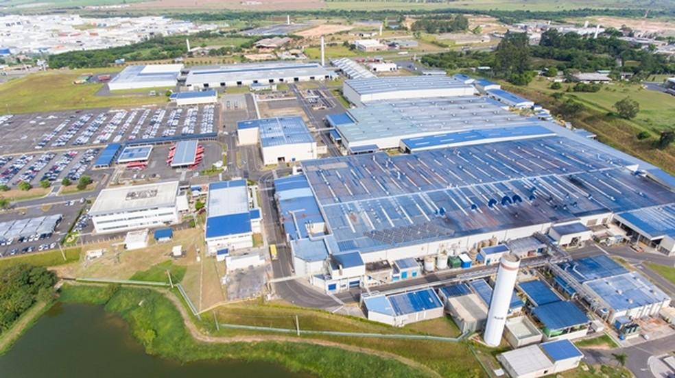Fábrica da Toyota em Indaiatuba (SP) — Foto: Divulgação