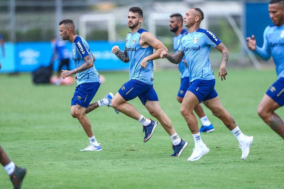 — Foto: Lucas Uebel/DVG/Grêmio