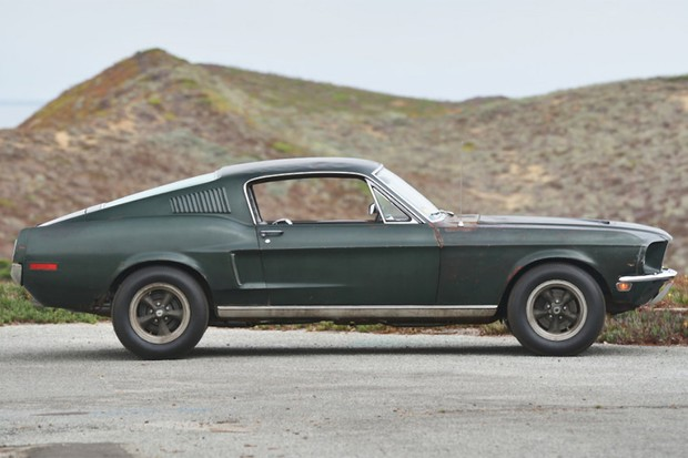 A carroceria fastback do Mustang 68 era a mais sensual (Foto: Divulgação)