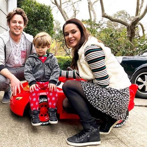 Fernanda Machado com a família (Foto: Reprodução Instagram)