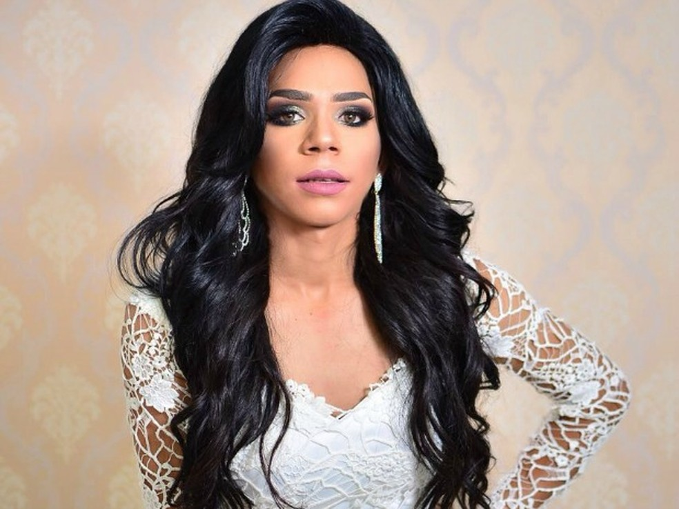 Karol Lopes  (Santo AntA?nio de Leverger) - Miss Gay Mato Grosso 2017 (Foto: DizA?o LeA?o)