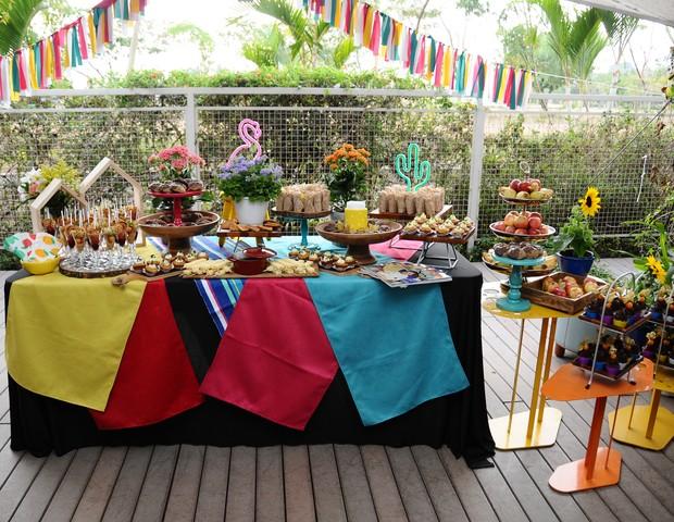 As comidinhas foram preparadas pelo Chef Henrique Morbidelli (Foto: Raquel Espírito Santo)