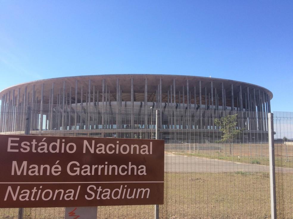 Empresa de marketing esportivo ofereceu R$ 300 mil ao Botafogo-PB para enfrentar o Atlético-MG, em Brasília (Foto: Marcelo Hazan)