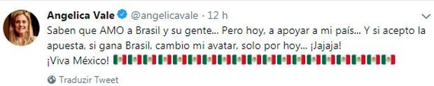 Angélica Vale muda perfil no Twitter (Foto: Reprodução)