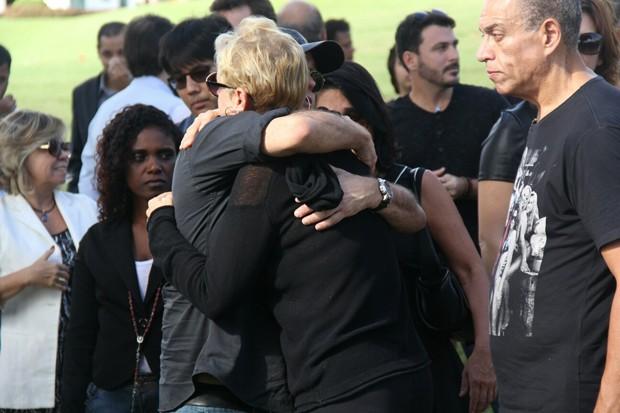 Sérgio Mallandro e Xuxa (Foto: Wallace Barbosa/AgNews)