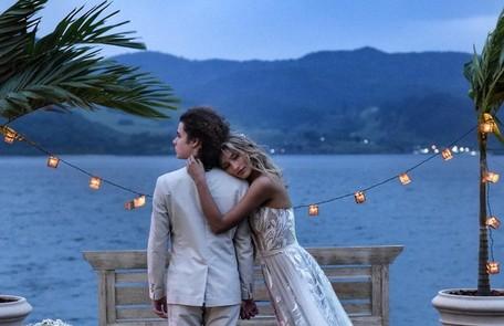 Sasha e João se casaram na casa de Xuxa em Angra dos Reis Reprodução