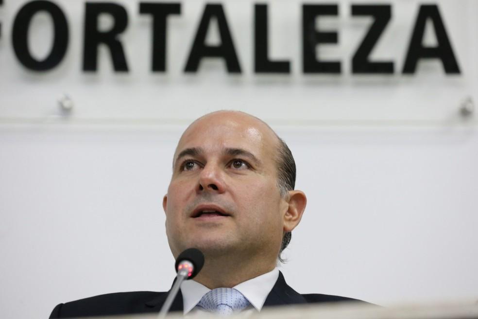Roberto Cláudio afirmou que manterá a rotina de trabalho nos próximos dias — Foto: José Leomar/SVM