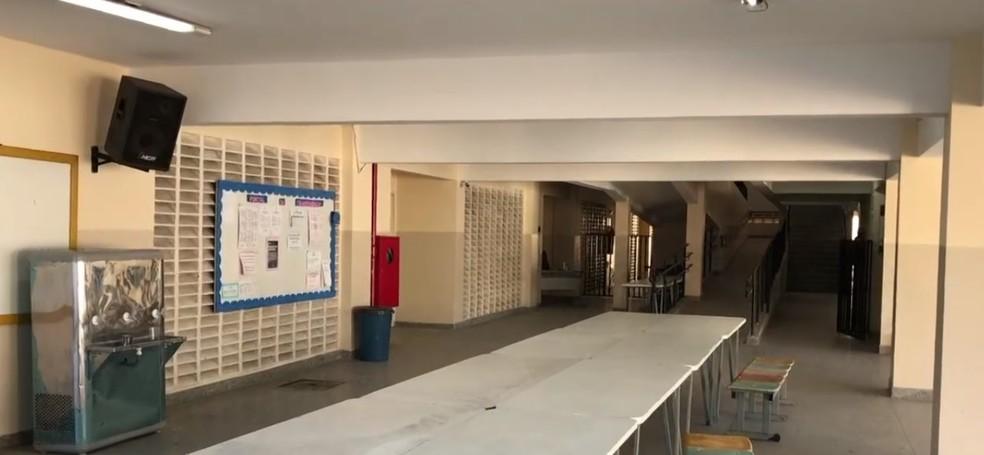 Escolas públicas do RN vão voltar a receber aulas presenciais em fevereiro após mais de 10 meses — Foto: Reprodução/Inter TV Cabugi