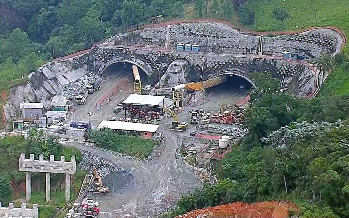 Resultado de imagem para falhas construtivas na obra do Rodoanel Norte