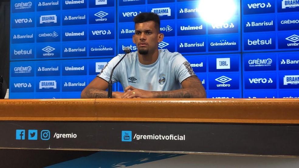 Rodrigues, zagueiro do Grêmio — Foto: Lucas Uebel/Grêmio
