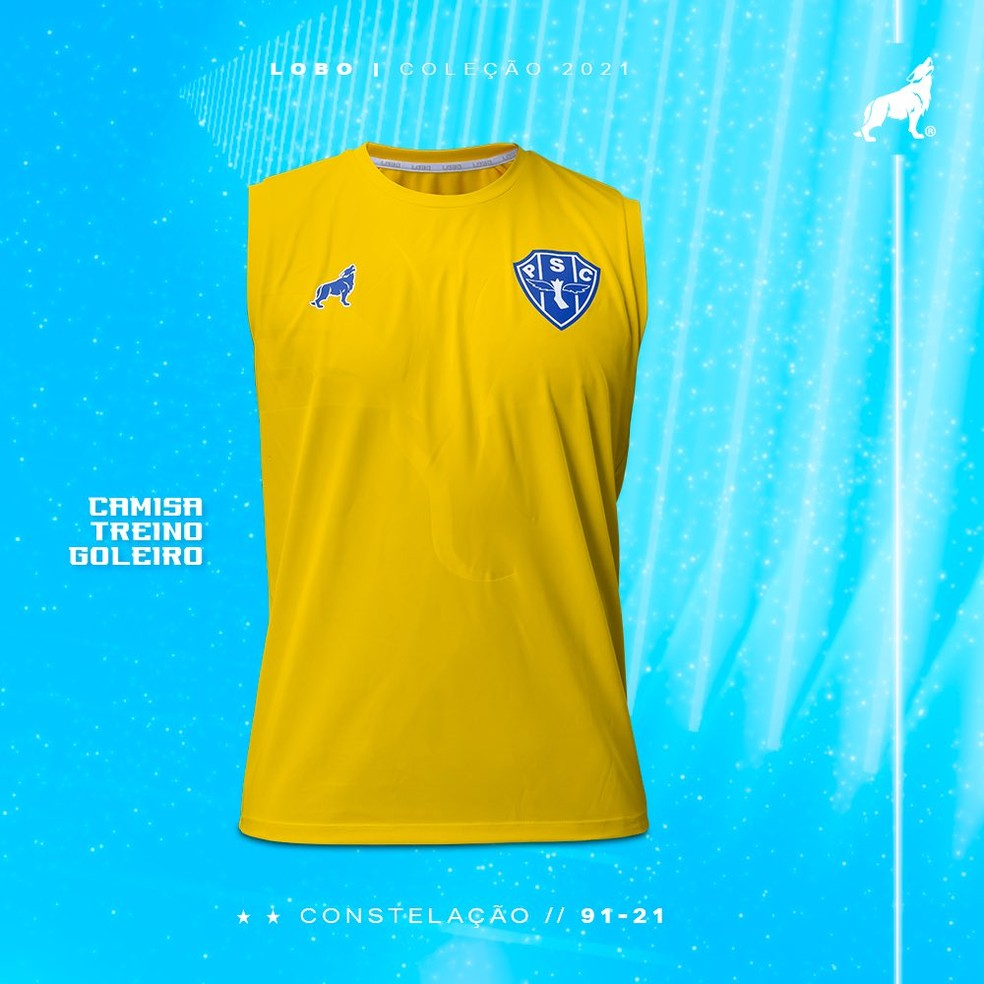 Camisa de treino goleiro - versão regata — Foto: Divulgação