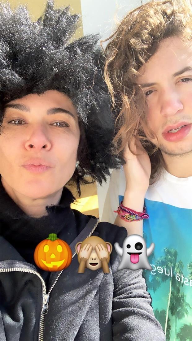 Luciana Gimenez e Lucas Jagger (Foto: Reprodução / Instagram)