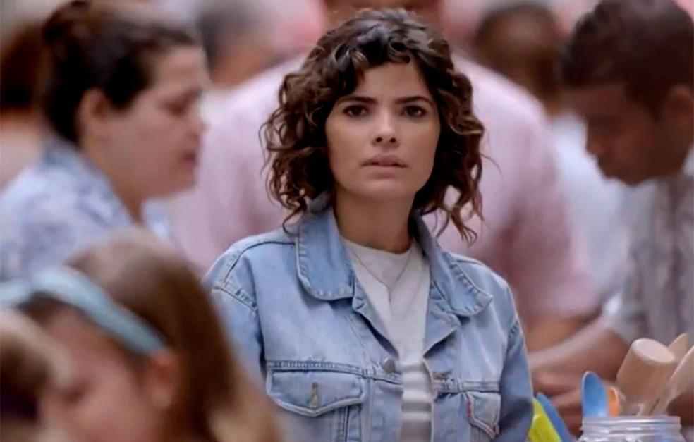 Em 'Império': José Alfredo (Chay Suede) reencontra Eliane (Vanessa Giácomo), seu grande amor — Foto: Globo