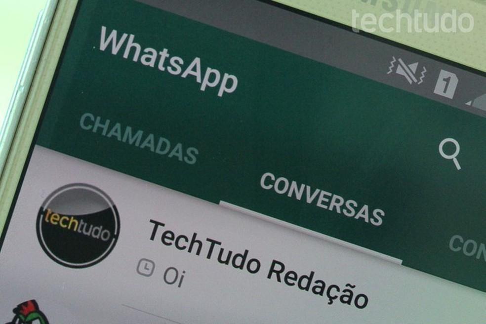 Novas mensagens não chegam a usuários com WhatsApp desinstalado — Foto: Aline Batista/TechTudo
