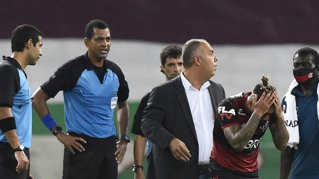 Gabigol, do Flamengo, é expulso contra o Fluminense