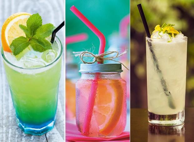 21 Drinques com e sem álcool para refrescar