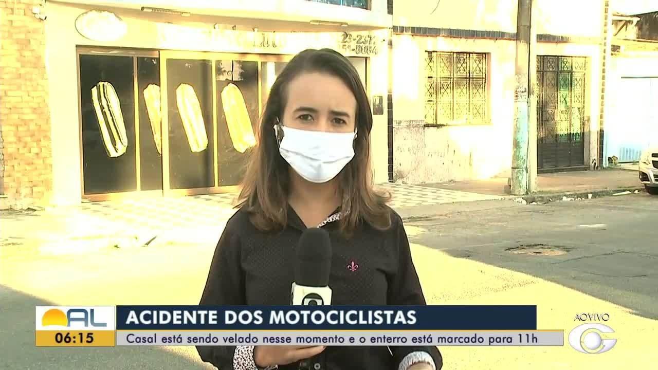 Corpos de alagoanos mortos em acidente em Pernambuco são velados em Maceió