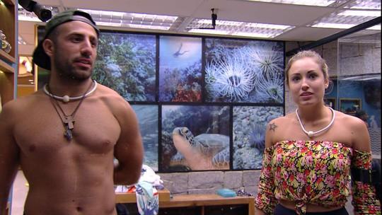 Kaysar diz a Jéssica que Diego vai fazer falta